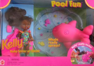 Pool Fun Kelly Doll, Li'l Friends of Kelly Doll, Baby Sister of Barbie Doll