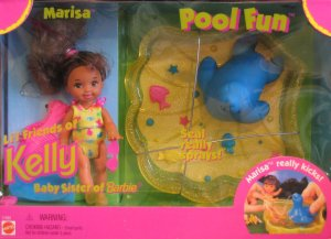 Pool Fun Marisa Doll, Li'l Friends of Kelly Doll, Baby Sister of Barbie Doll