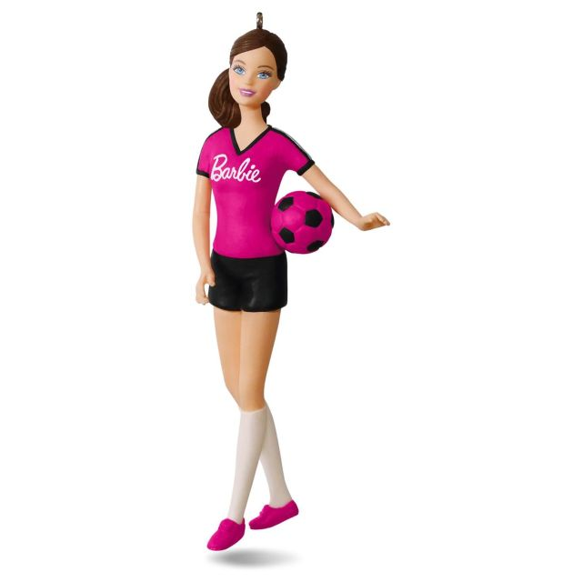 Soccer Player Barbie™ Ornament