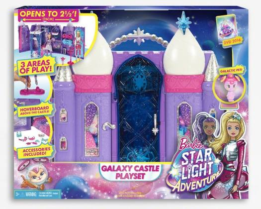 Star Light Adventure Galaxy Castle Playset