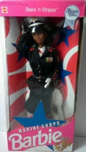 Stars & Stripes Marine Corps barbie