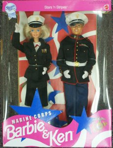 Stars & Stripes Marine Corps dolls