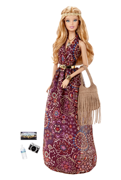 The Barbie Look™ Barbie® Doll – Festival flyer