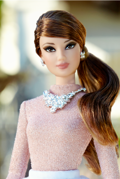 The Barbie Look™ Barbie® Doll – Party Perfect face