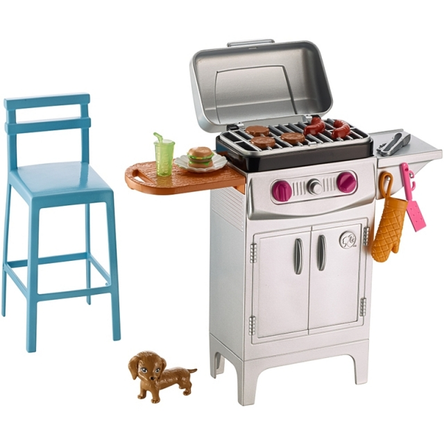 barbeque-set-with-grill-puppy-and-chair