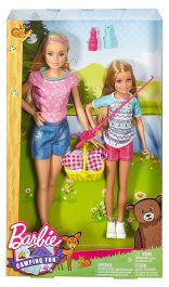 2016 Camping Fun Barbie and Stacie NRFB