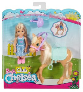 2017 barbie-club-chelsea-dolls-horse-nrfb