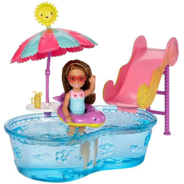 barbie-club-chelsea-pool-and-water-slide-set