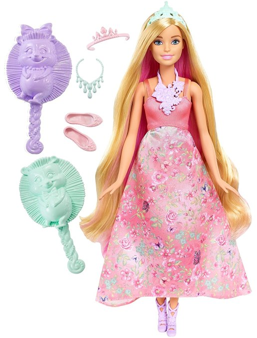 barbie-dreamtopia-color-stylin-princess-doll-pink