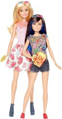 2017 Barbie Sisters Barbie and Skipper Dolls-2-pack