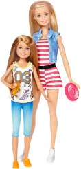 2017 Barbie Sisters-Barbie and Stacie dolls-2-pack