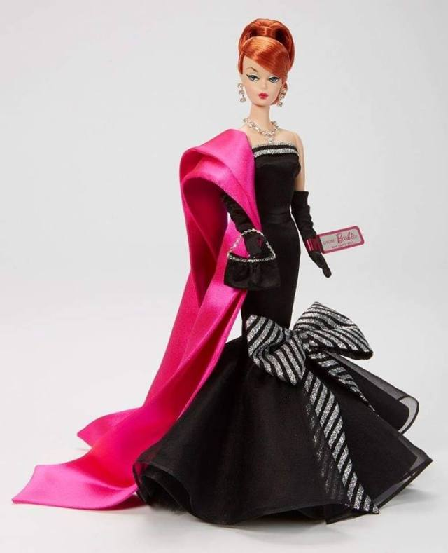526945c3a8ae 2019 Portuguese Doll Convention Charity Auction Barbie doll – Sparkle Barbie™  by Bill Greening (April 7