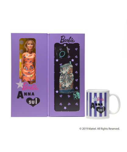 2118753c2ca4 Barbie Doll and Anna Sui 19 Spring Summer Collection Collection. It is with  an original mug – Still for sale at Ebay.com.