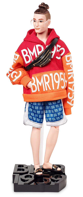 NEW 2018 Barbie Ken Steven AA Fashionistas Doll 18 Super Stripes Broad Handsome!