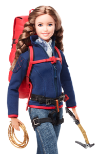 e2dd9acd00c Karla Wheelock, (mountaineer, writer, lecturer, Mexico) getting her own Barbie  Doll.