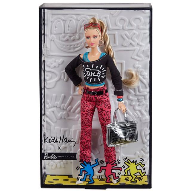 5e6b4e5821f Barbie x Keith Haring Doll.