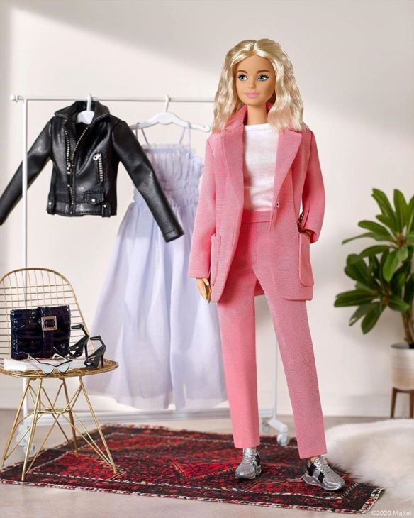 Barbie Doll Fashion Fever My Scene White Faux Leather Jacket Outfit Rare