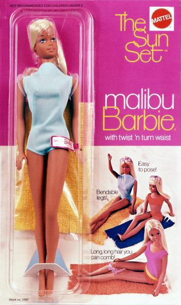 Orginal 1971 Malibu Barbie NRFB