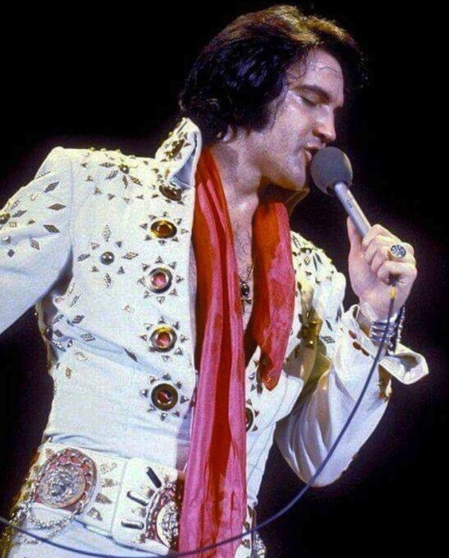 """April 18,1972: Elvis performed at the Convention Center Arena in San Antonio,Texas at 8:30 pm to a crowd of 10,500. This show was filmed and recorded for the """"Elvis On Tour"""" documentary."""