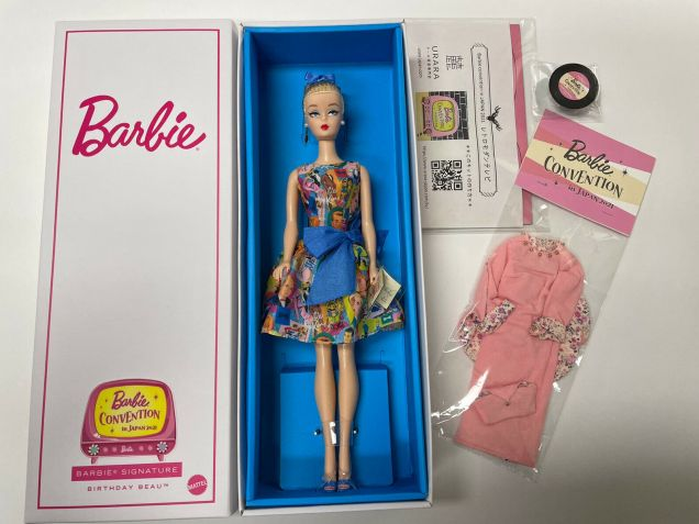 2021 Barbie Convention Japan Doll and fashionset