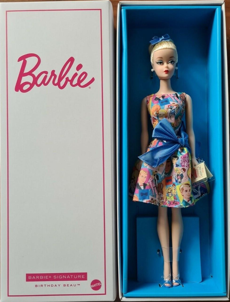 2021 barbie fashion doll festival paris doll NRFB