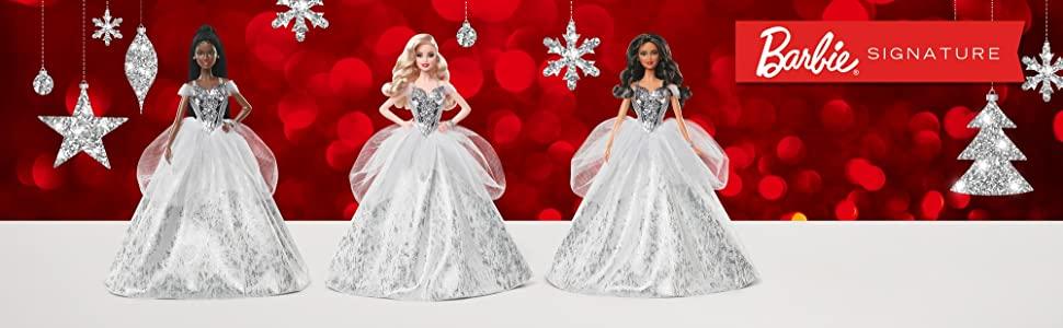 2021 Happy Holiday Barbie Dolls