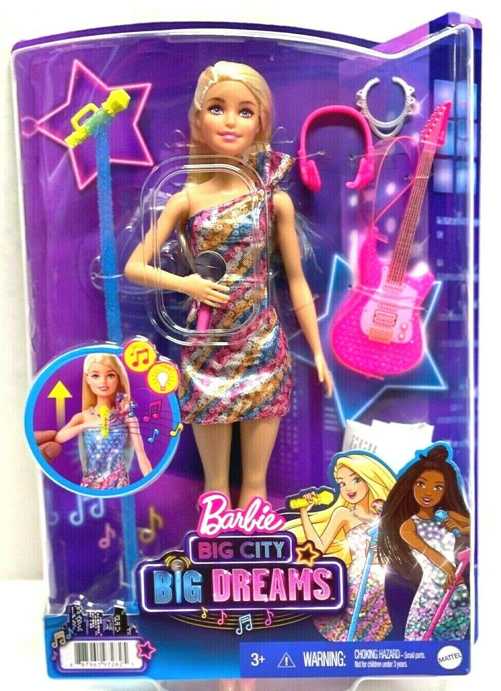 Barbie Big City Big Dreams Singing Barbie Doll