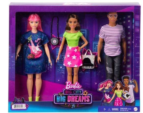 Barbie-Big-City-Big-Dreams-Teresa-Daisy-and-Rafa-Dolls-Giftset NRFB