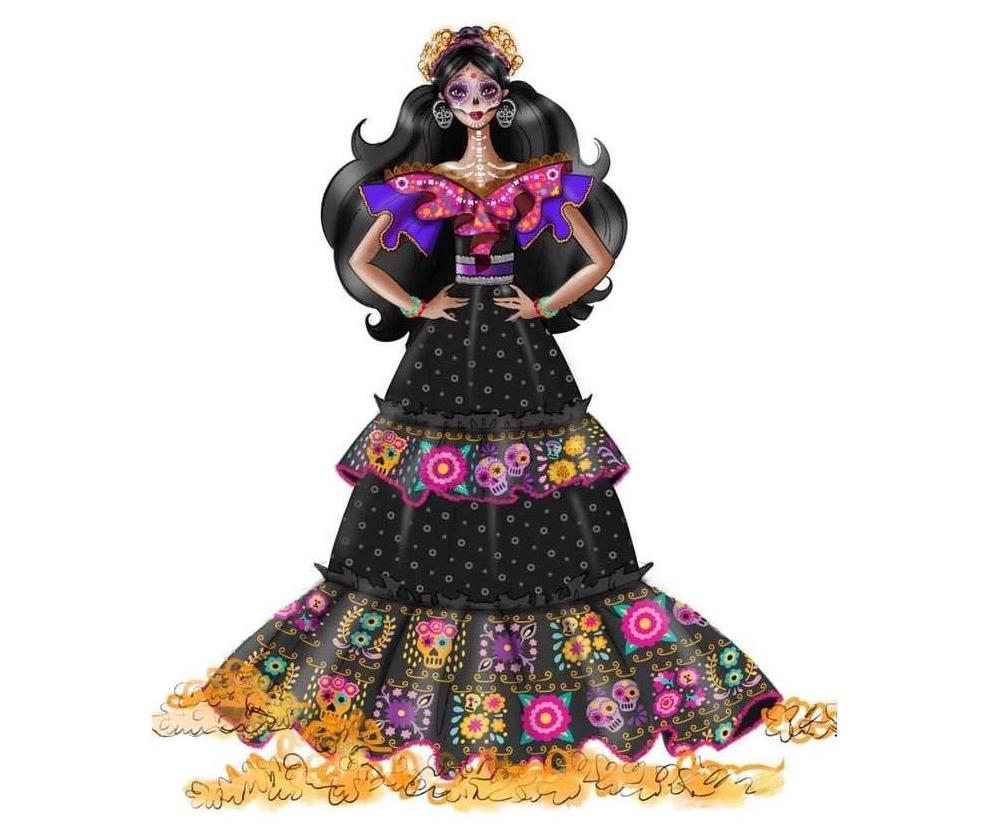 Barbie Dia De Muertos 2021 doll (GXL27)