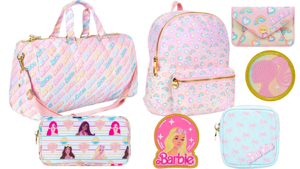 carry an adorable duffle! The Barbie x Stoney Clover Lane Collection