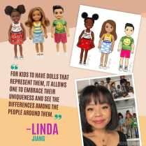 Chelsea and friends from Linda Jiand.