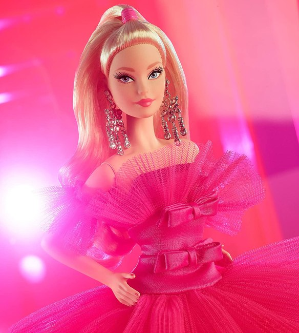Barbie Model Muse Blonde Hair Mackie Face 2010 Holiday Collector Doll
