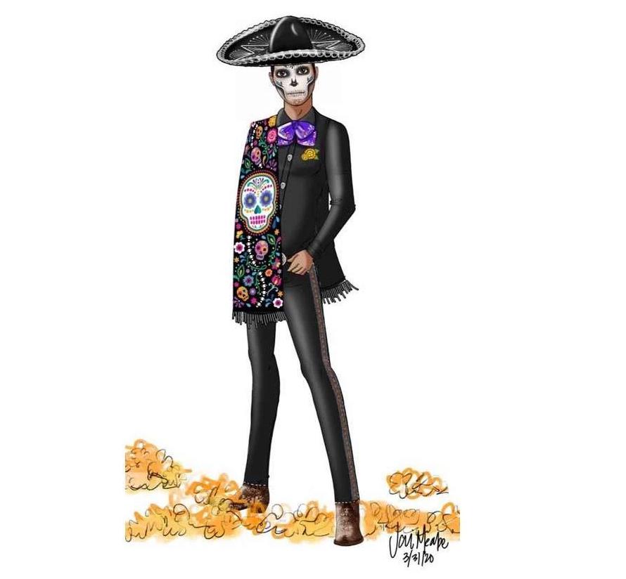 Ken Dia De Muertos 2021 doll