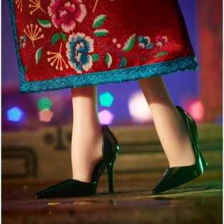 Lunar New Year Barbie® Doll shoes