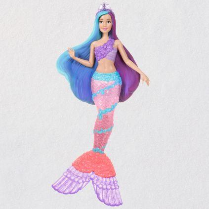 Mermaid-Barbie-Keepsake-Ornament-With-Light 1