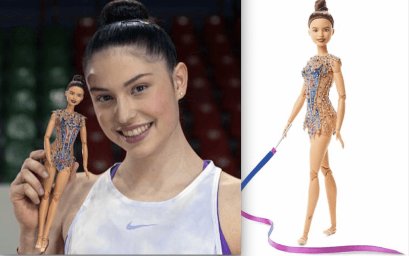 Milena Baldassarri barbie doll