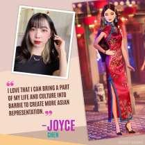 New yaer Barbie from Joyce Chen
