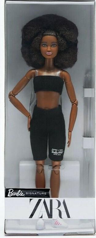 Zara Barbie Doll Brunette NRFB