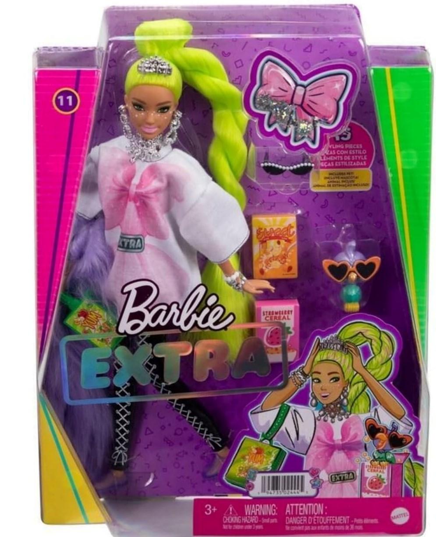 2022 Barbie Extra Yellow Hair NRFB