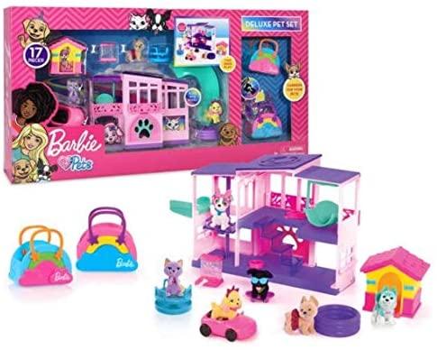 Barbie Deluxe Pet Set Dreamhouse