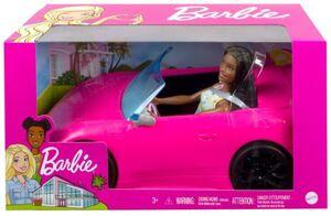 Barbie doll & Car Brunette NRFB