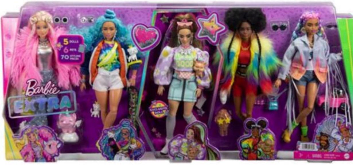 Barbie Extra Dolls NRFB