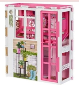 Barbie Fold and Carry House 1