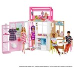 Barbie House with a Doll