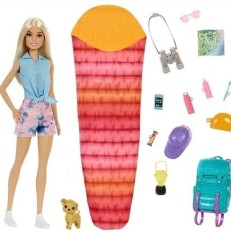 Barbie It Takes Two Camping Playset