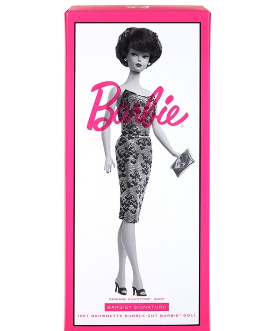 Repro barbie_silkstone_brunet_bubble cut NRFB