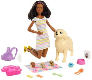The Barbie Play'n' Wash Pets Playsets Brunette