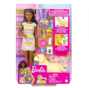 The Barbie Play'n' Wash Pets Playsets.